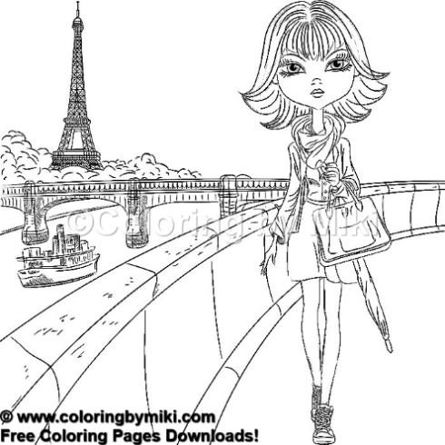 大人のぬりえ 大人の塗り絵 コロリアージュ 大人 大人の習い事 コロリアージュ アート カラーセラピー アートセラピー リハビリ コロリアージュ イラスト 線画 無料 塗り絵 ぬりえ 精神統一 頭の体操 禅 ぬりえプリント 無料ダ 2020 パリの女の子