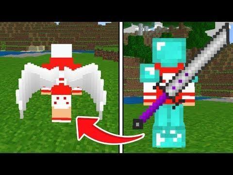 COMO USAR ASAS NA SUA SKIN NO MINECRAFT PE SKIN D Minecraft - Skins para minecraft pe guerra