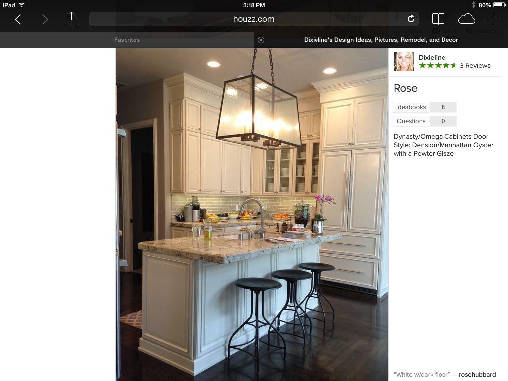 My Dream Kitchen I Like The Subway Tile Granite Combination Dream Kitchen Kitchen Home Decor