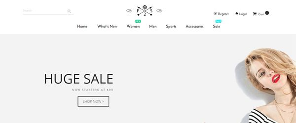 magento 2 fashion theme