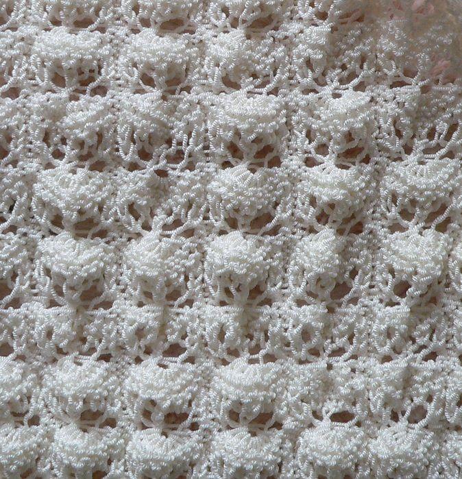 Вязания по схемы ракушки спицами 68