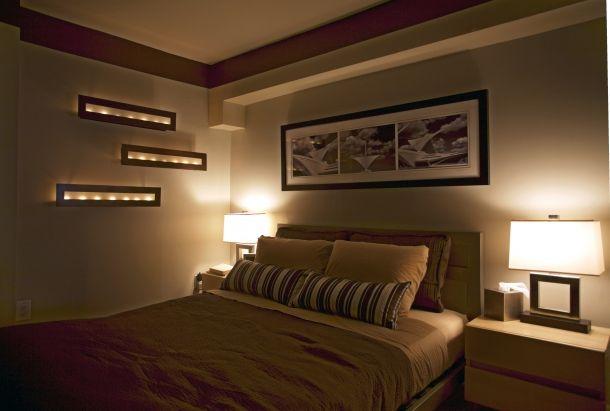 Iluminacion dormitorios matrimonio moderno deco - Iluminacion de habitaciones ...