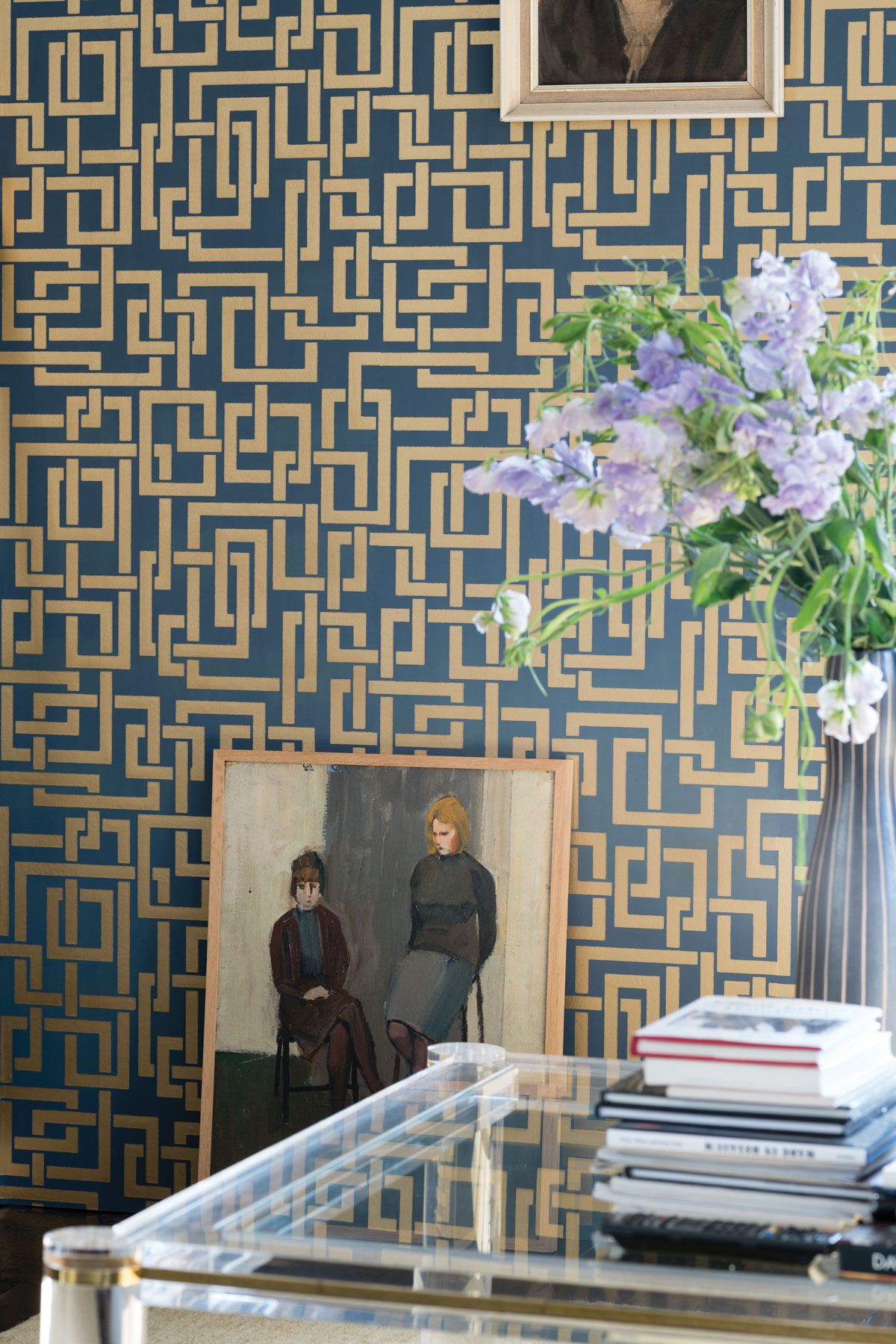 Farrow And Köln farrow channels the 1940s in wallpaper collection