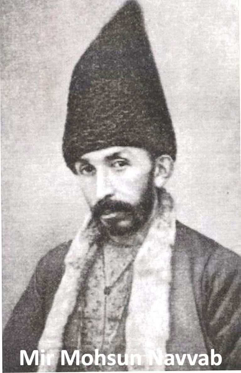 Mir Mohsun Navvab Historical Figures Art Historical