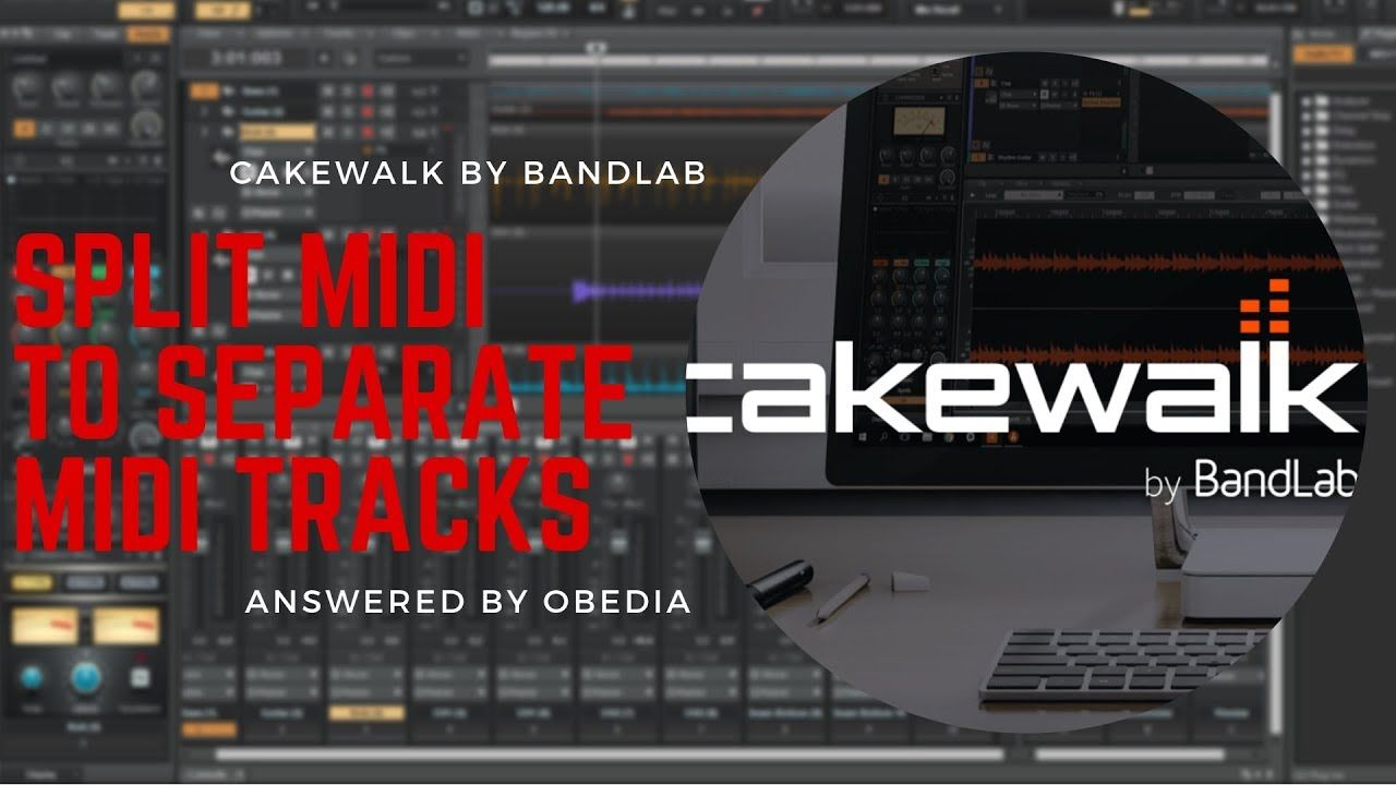 Cakewalk By Bandlab How To Split Midi Region Notes To New Tracks Youtube In 2020 This Or That Questions Cake Walk How To Split