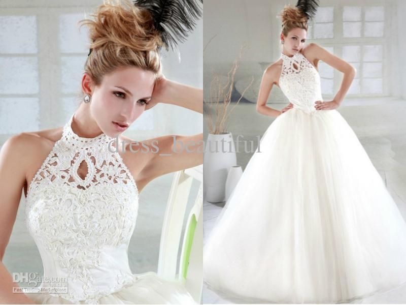 cheap wedding dress discount sexy new design wedding dresses ball gown halter online with 8508
