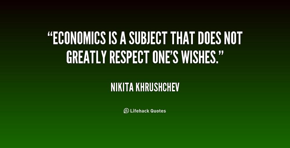 Home Optimizing America Economics One Wish Quotes