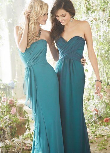 Mismatched Bridesmaid Dresses | The Wedding Community | Curnita this ...