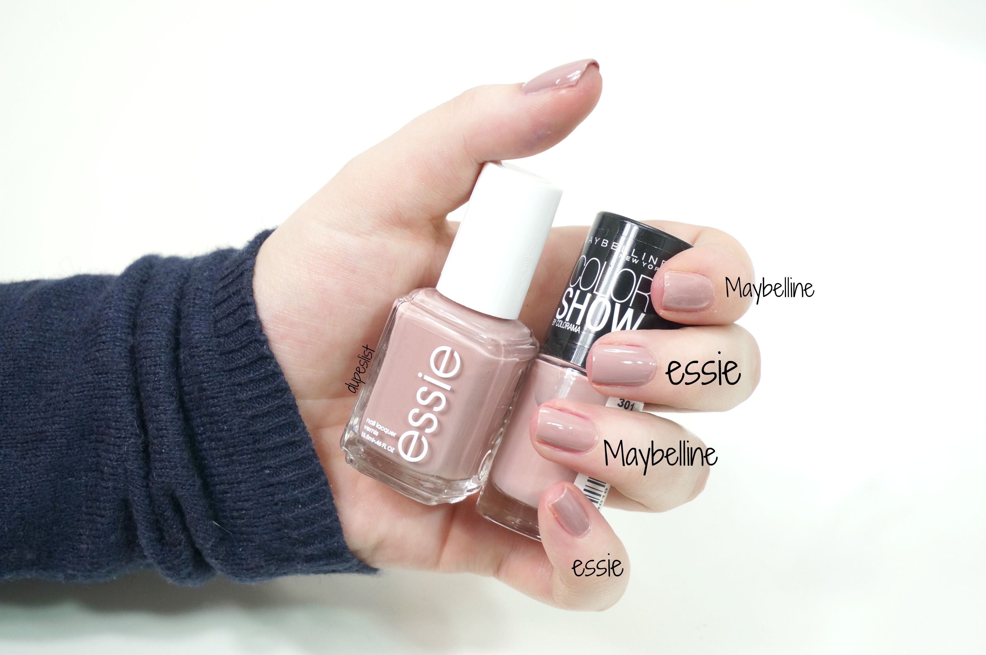 essie ladylike Dupe: Maybelline \'301 love this sweater\'   Dupes ...