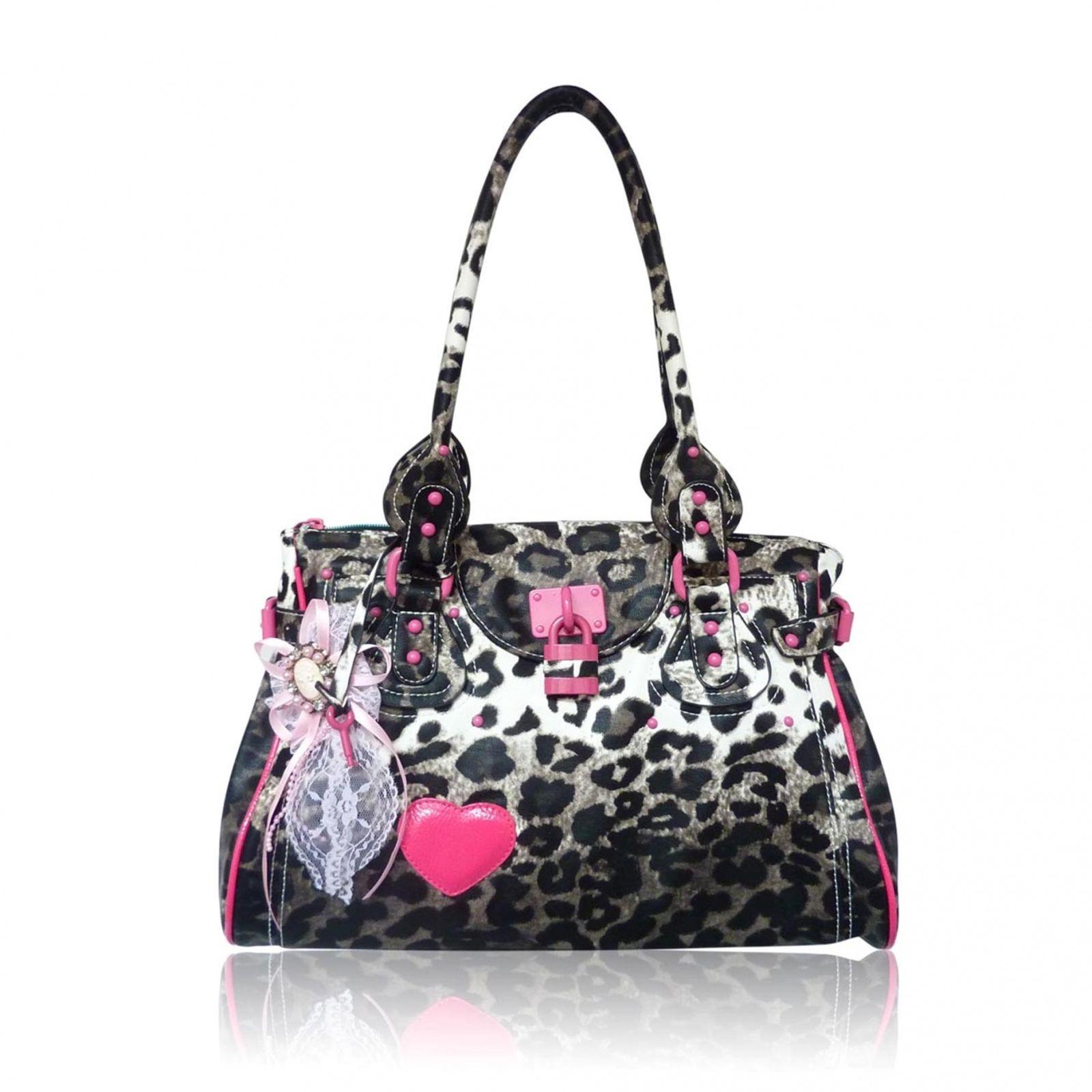 Purses Anna Smith Animal Print Designer Handbag Handbags Star