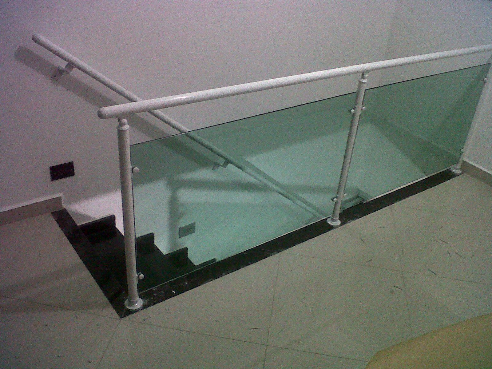 corrimão de vidro externo - Pesquisa Google