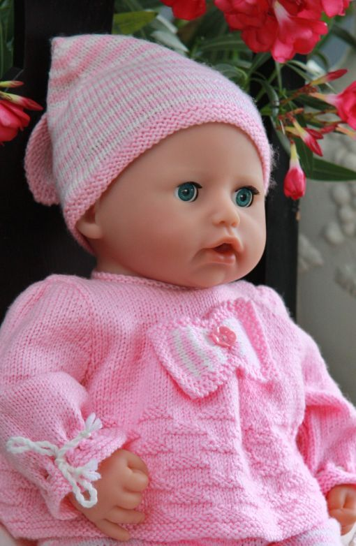 Free Knitting Patterns For Dolls Prams : Premature baby knitting patterns, premature baby clothes ...