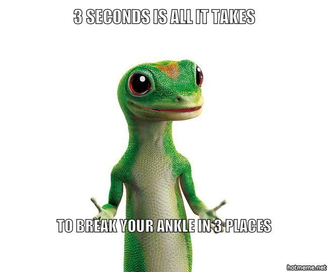 ea0c1f4ab003672b0b640e62d03f97f2 geico gecko meme generator make a meme online oh snap! broken
