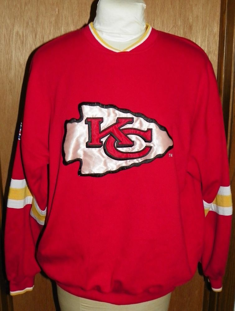 Vintage XL Kansas city chiefs shirt, vintage nfl shirt