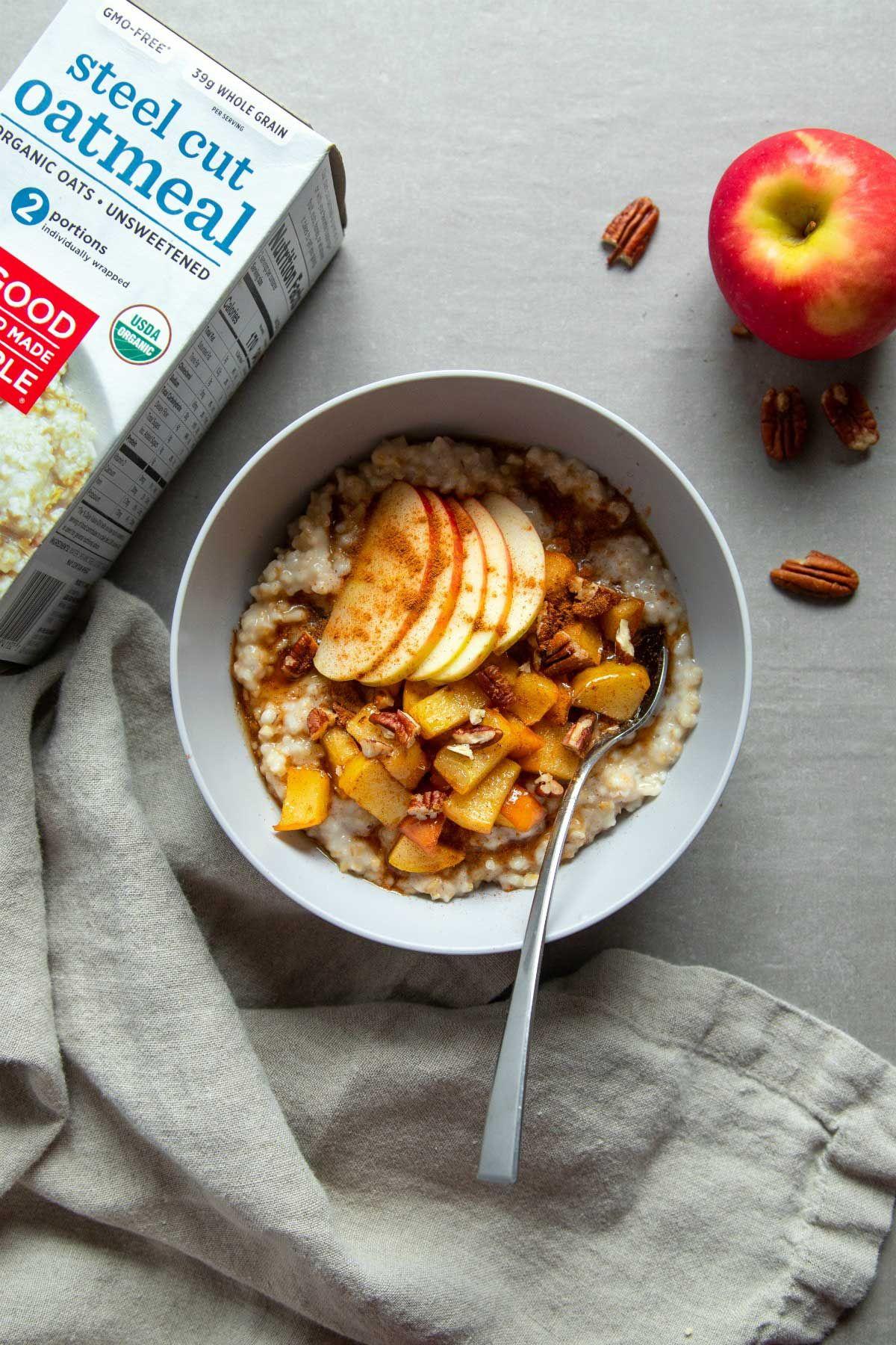 Apple cinnamon oatmeal recipe apple cinnamon oatmeal