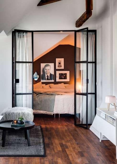 Une porte verrière d\'atelier pour chambre industrielle | Ideas Hogar ...