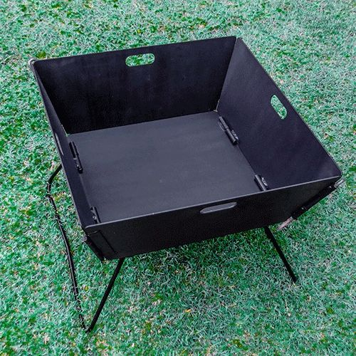 Camping Fire Pit >> Folding Fire Pit Portable Fire Pit For Camping Best Portable Fire
