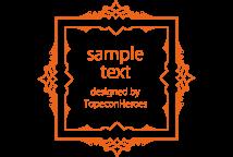 デザイン枠 飾り罫素材専門サイト フレームデザイン Frames Design Com Gambar