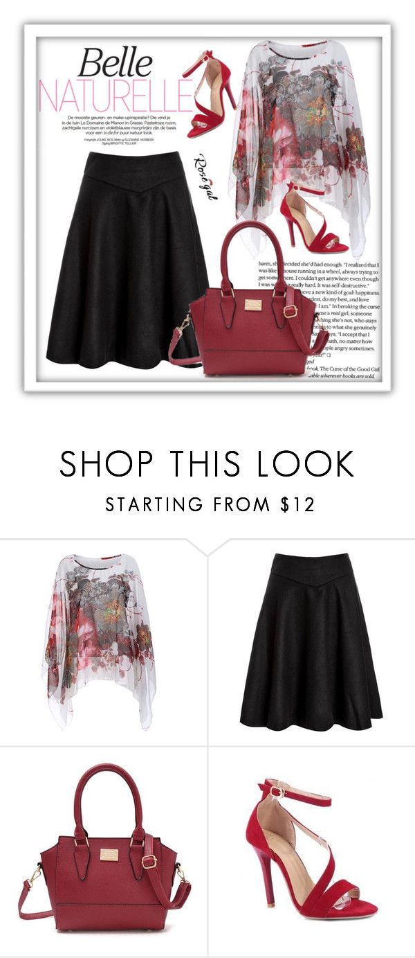 """""""Rosegal 43."""" by zura-b ❤ liked on Polyvore featuring women, fashionset and rosegal"""