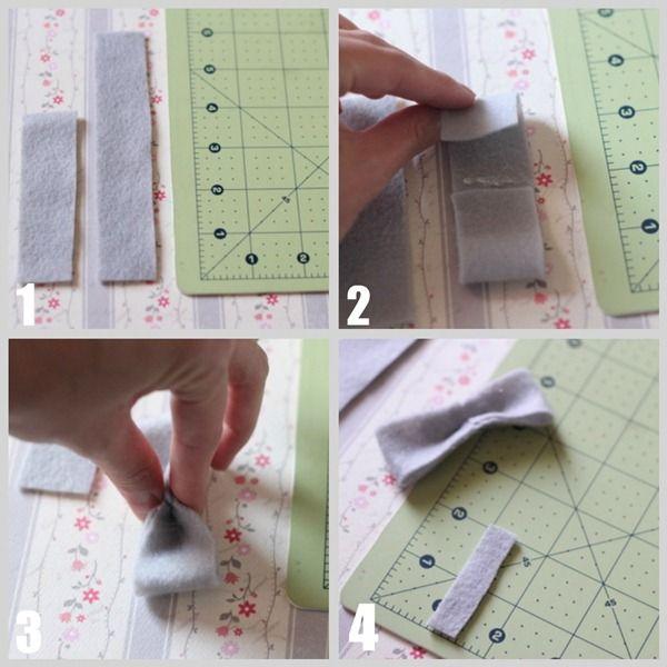 Felt Bow {tutorial} - I Heart Nap Time   I Heart Nap Time - Easy recipes, DIY crafts, Homemaking