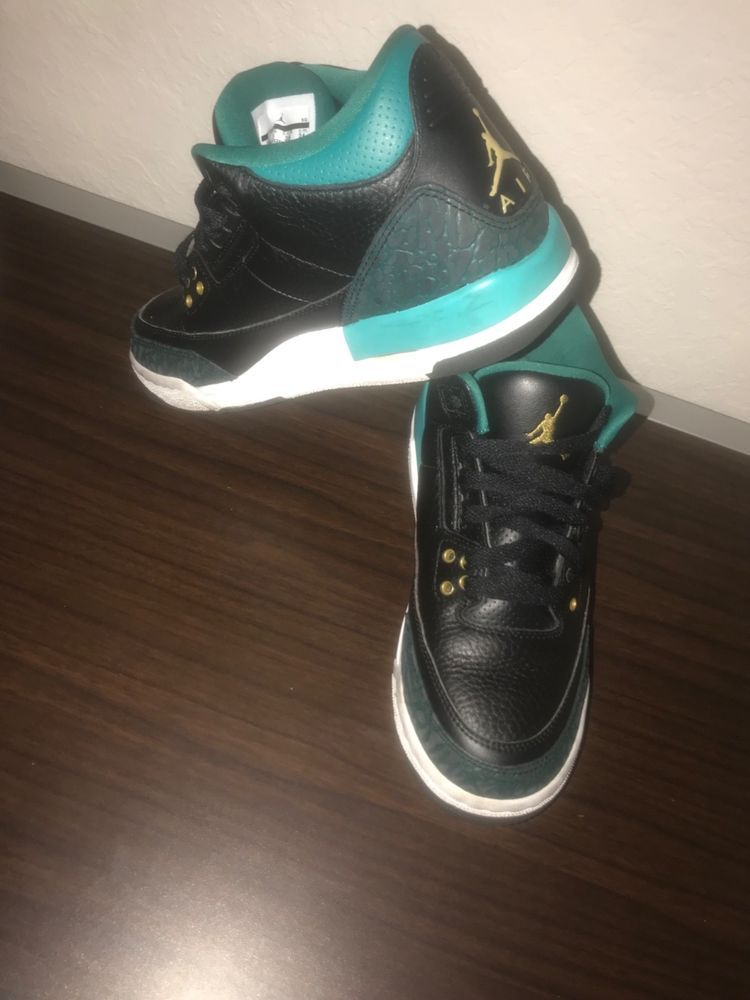 new style 4f930 43e6d Nike Air Jordan Youth Size 5.5Y black blue green slightly used  fashion   clothing  shoes  accessories  kidsclothingshoesaccs  boysshoes (ebay link)