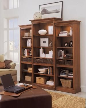 Stanley Furniture Bookcase American View Collection Office