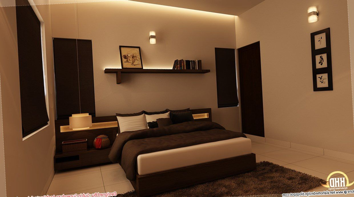 Kerala style bedroom interior designs https bedroom for Kerala house interior painting photos