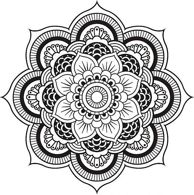 Relax While You Create With These Free Mandala Coloring Pages ...