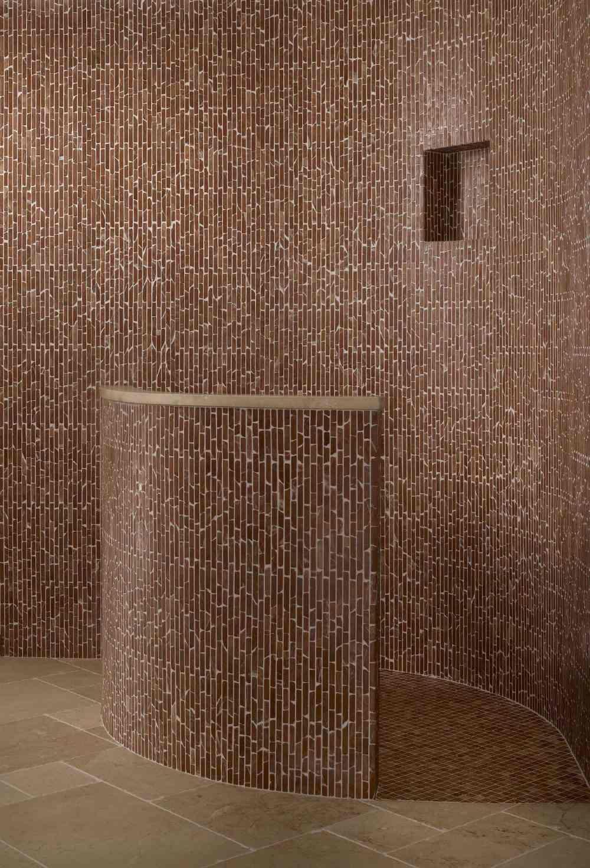 Mosaïque Marbre Rouge Alicante | Nos salles de bain | Pinterest ...