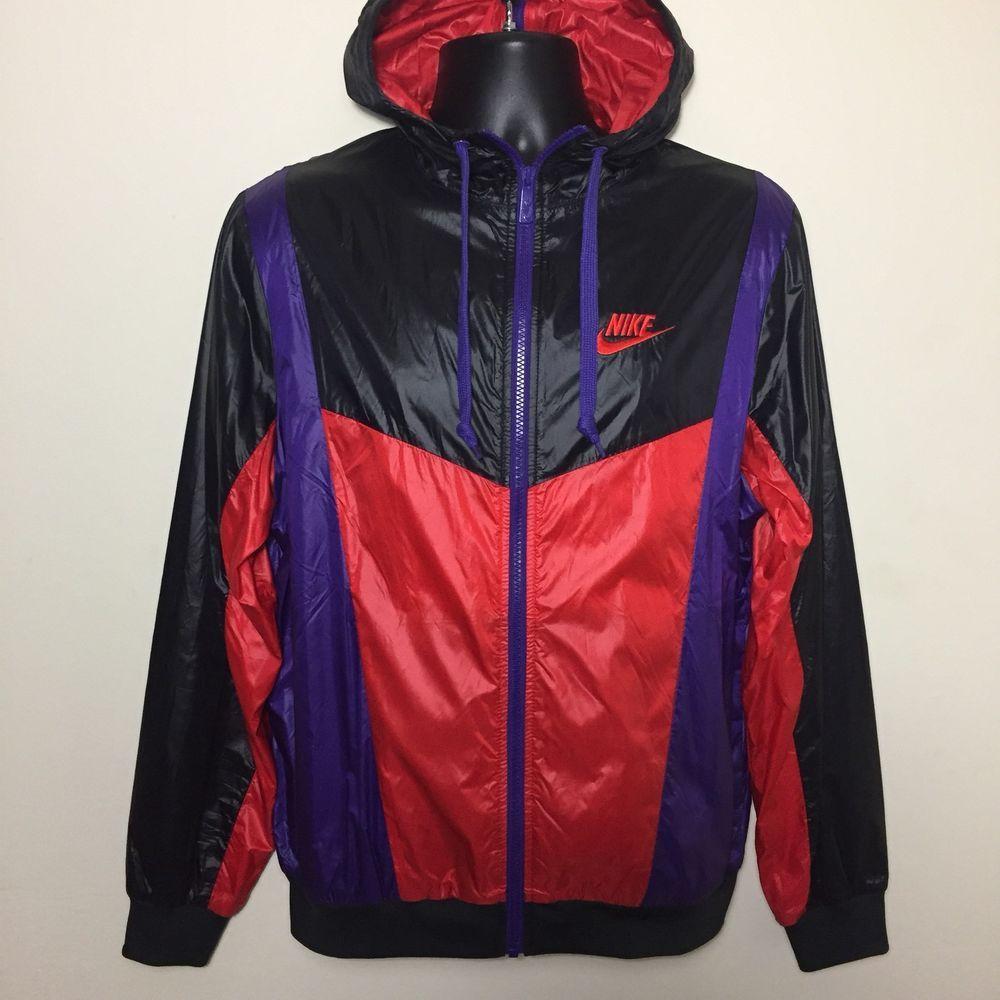 531a488136a5 Nike Windrunner Full Zip Apart Windbreaker Hoodie Jacket Purple Red Raptors  (M)   Clothing, Shoes   Accessories, Men s Clothing, Coats   Jackets   eBay!