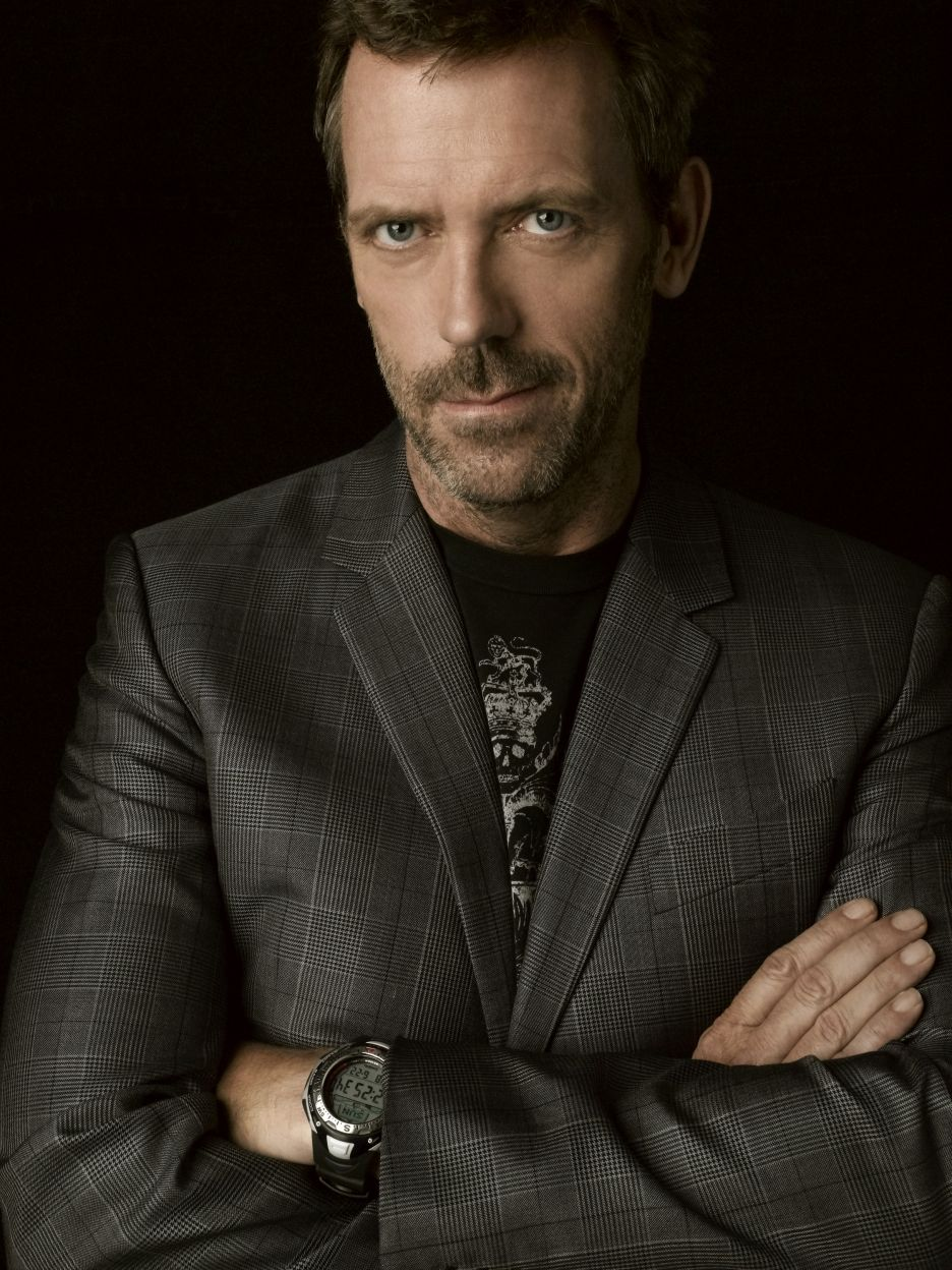 Picture of hugh laurie gregory house hugh laurie dr house