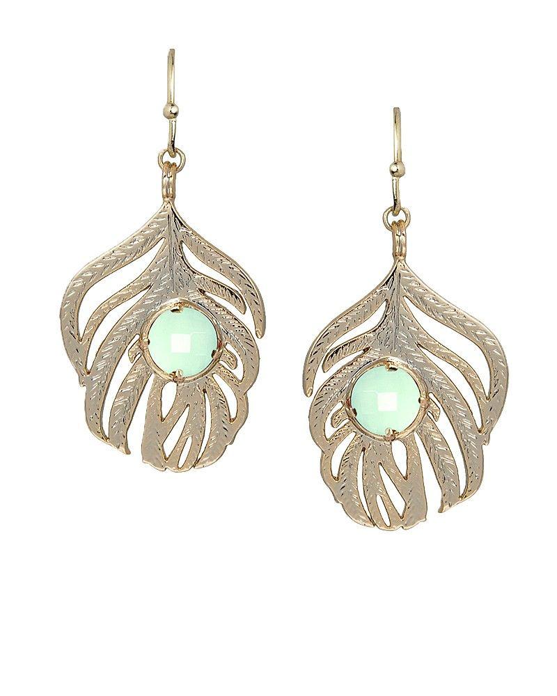 Rita gold earrings in chalcedony on sale for jewelry i