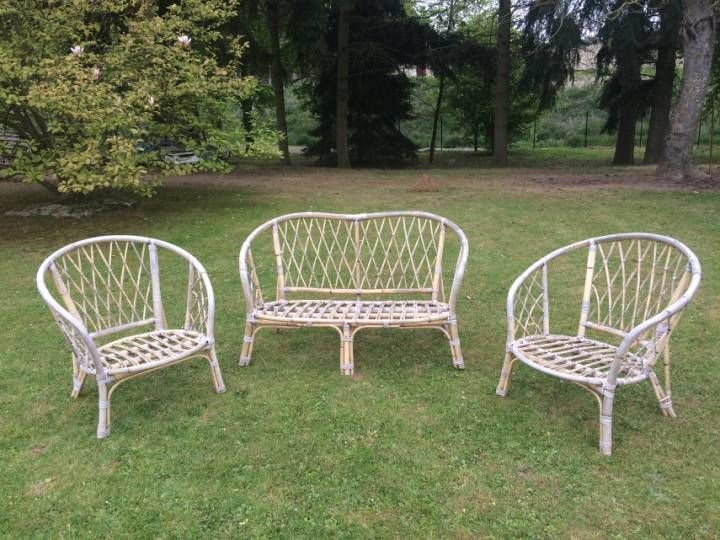 Salon de jardin vintage | Le Rotin | Pinterest | Salon, Le rotin et ...