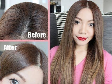 DIY Drugstore Hair Dye - How I Dye My Hair/Roots At Home | Beauty ...
