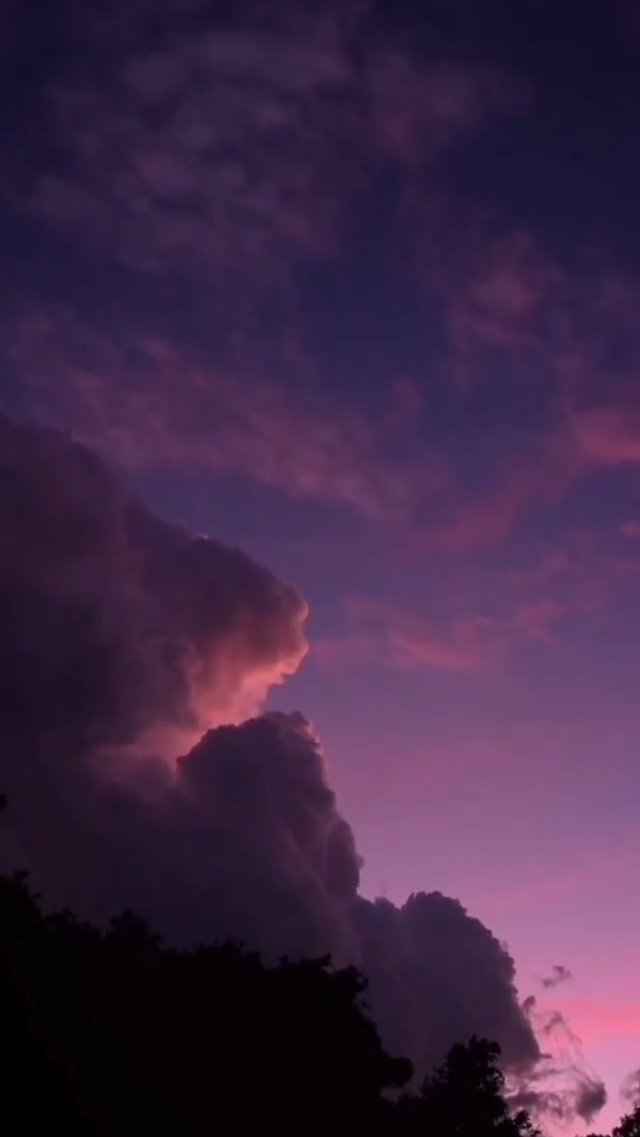 la magia del cielo | aesthetic pink sky purple clouds