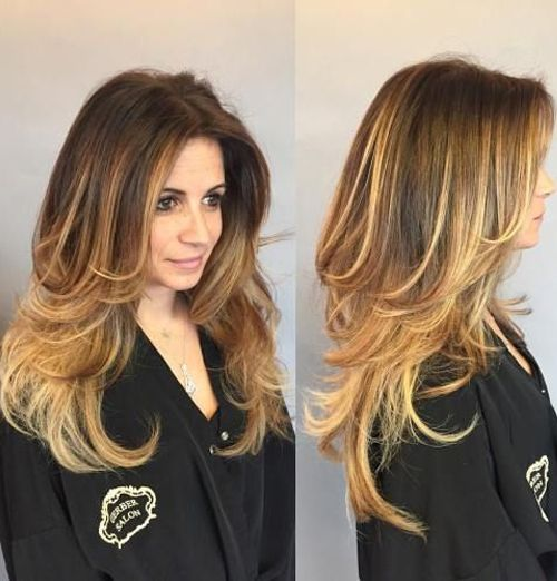 Long Layered Hairstyles Stunning Top 17 Jaw Dropping Long Layered Hairstyles 2017  2018 For Women