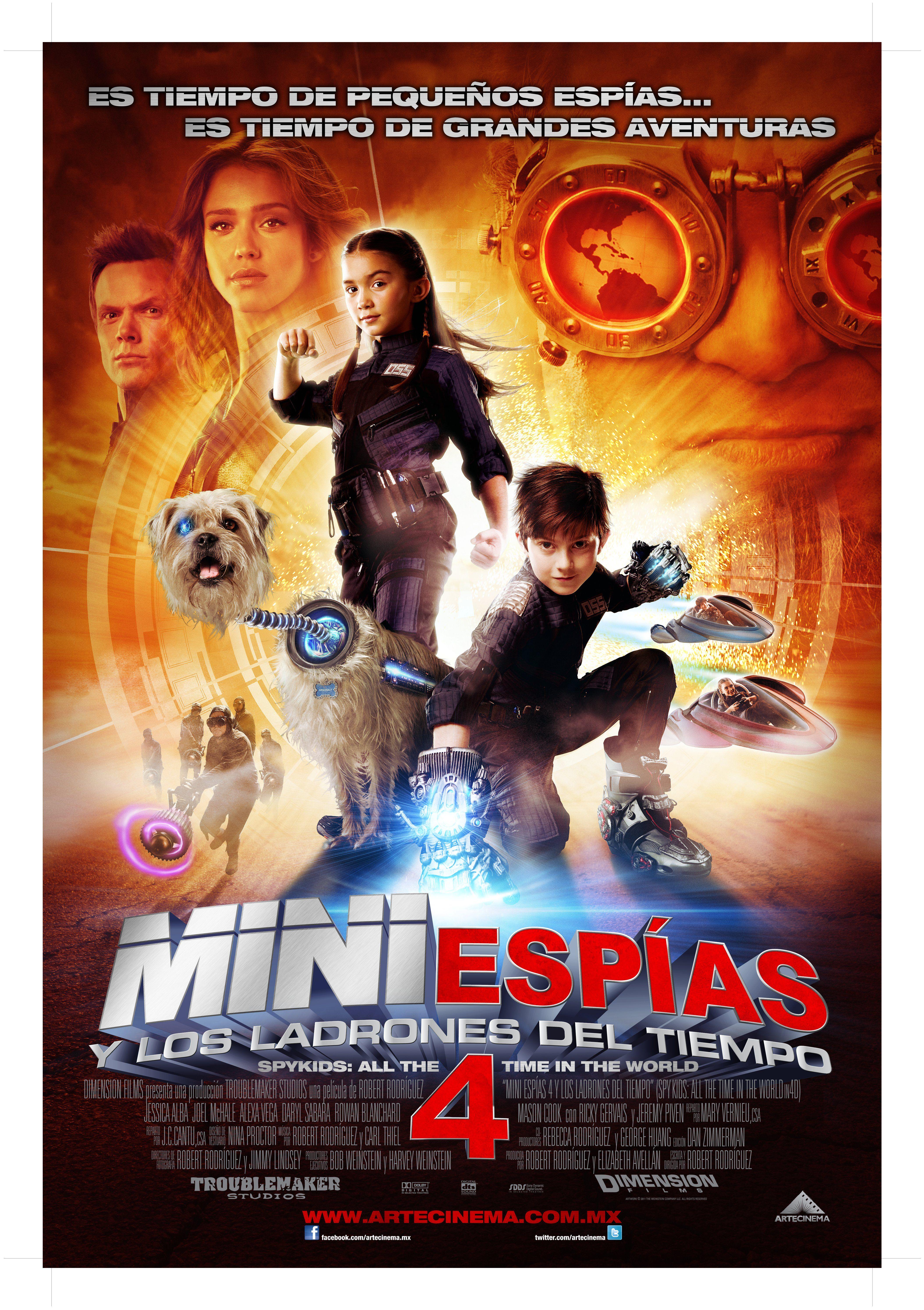 Mini Espias Y Los Ladrones Del Tiempo Spy Kids 4 Mini Espias Spy Kids Espias