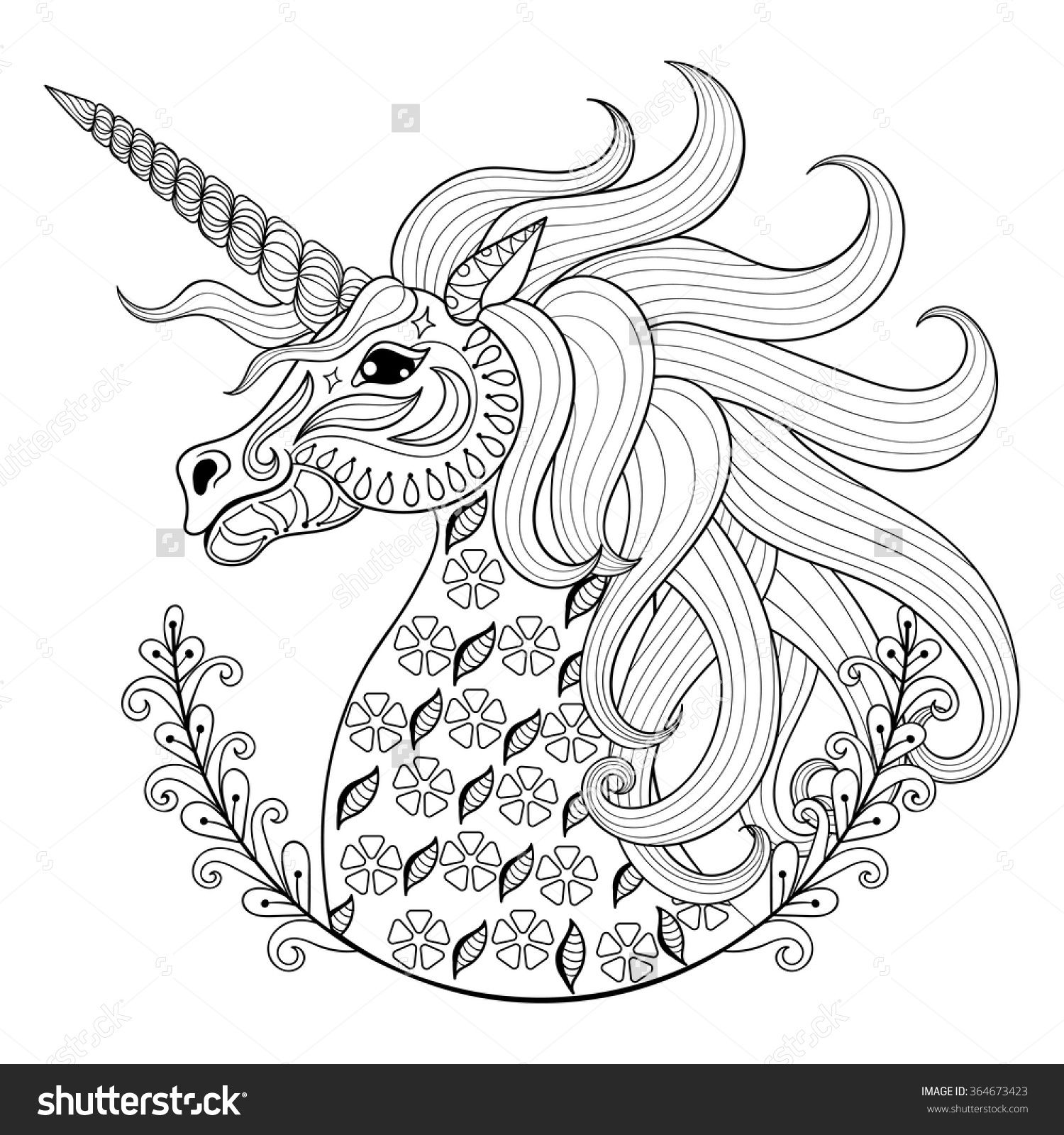 tribal animal coloring pages - photo#18