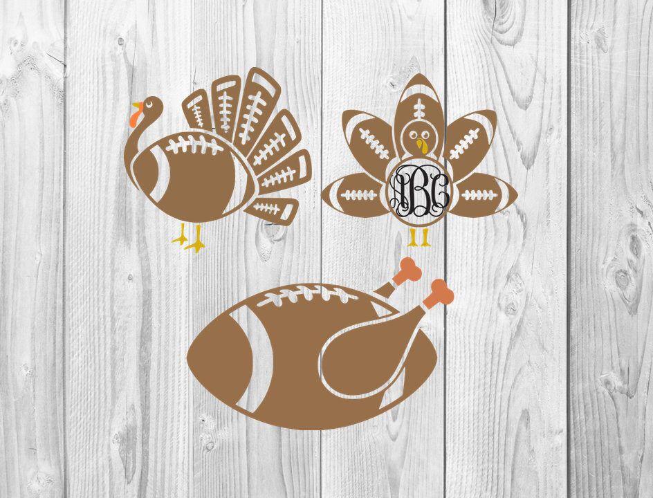 Football Turkey SVG Designs, SVG Design, Cricuit Design