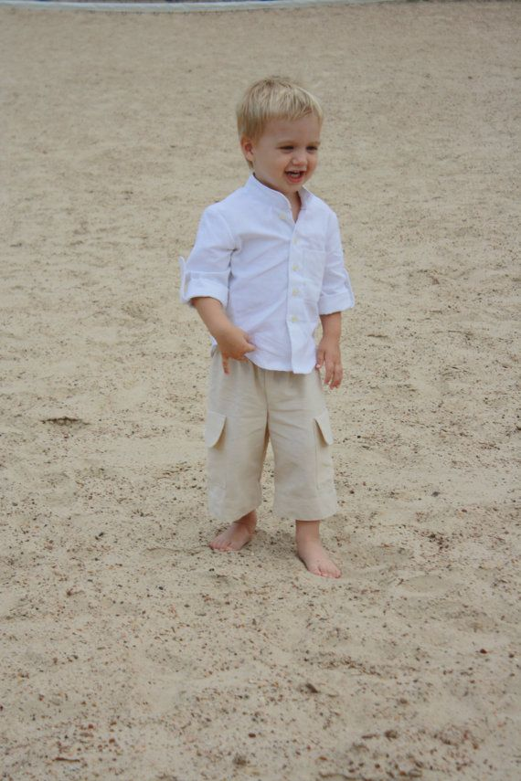Boys Beach Outfit Boys Beach Wedding Ring Bearer Outfit Resort