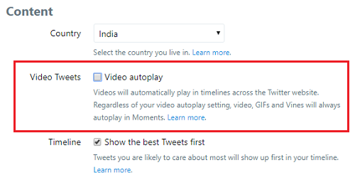 How to Disable Video Autoplay in Social Networking Sites