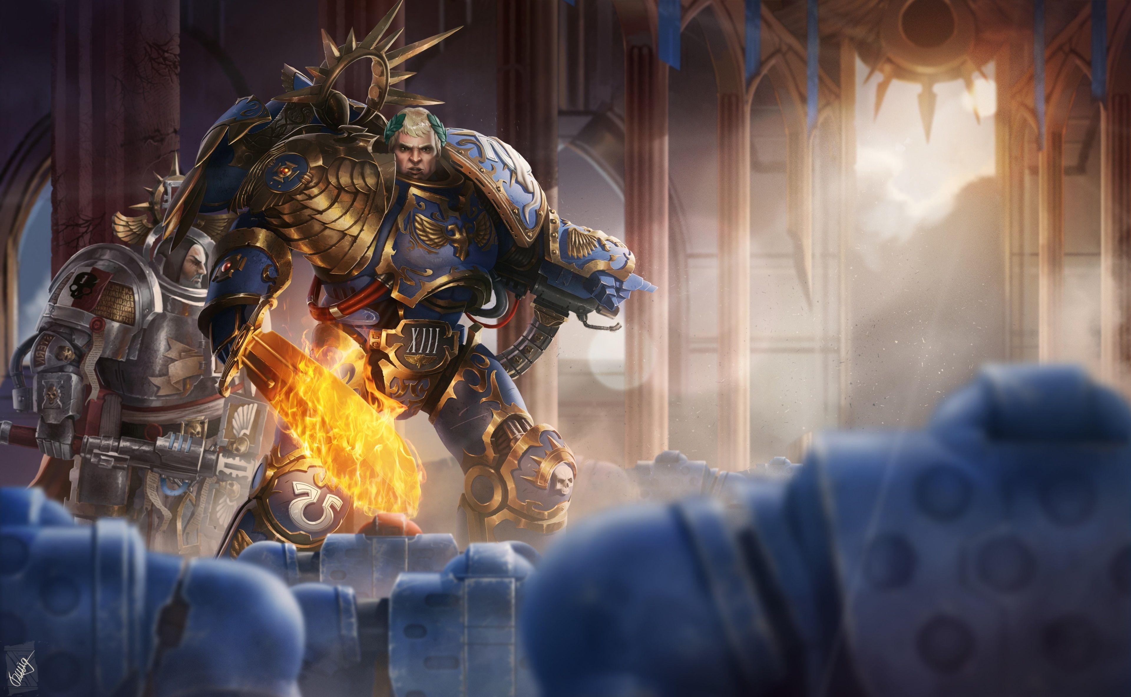 3840x2369 Warhammer 40000 Dawn Of War Iii 4k High Definition Wallpaper Warhammer Warhammer 40k Warhammer 40k Artwork