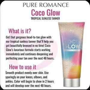 Coco Glow Tanning Lotion | Pure romance Pure romance ...