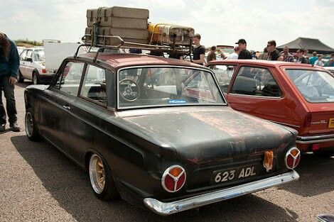 Mk1 Ford Cortina Rat rod roof racks | Home Audio ...