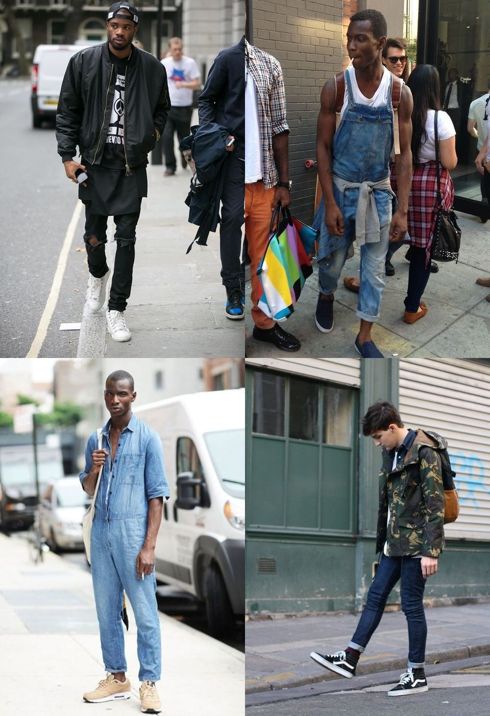 estilos de moda