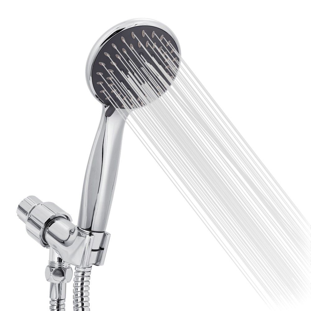 Briout Handheld Shower Head High Pressure 5 Spray Settings Massage ...
