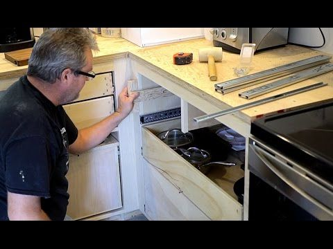 How To Install Drawer Slides The Easy Way Youtube Installing Drawer Slides Drawer Slides Drawers