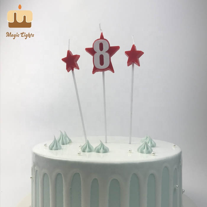 Colourful number shaped birthday candles,fancy number birthday candle china,Num…