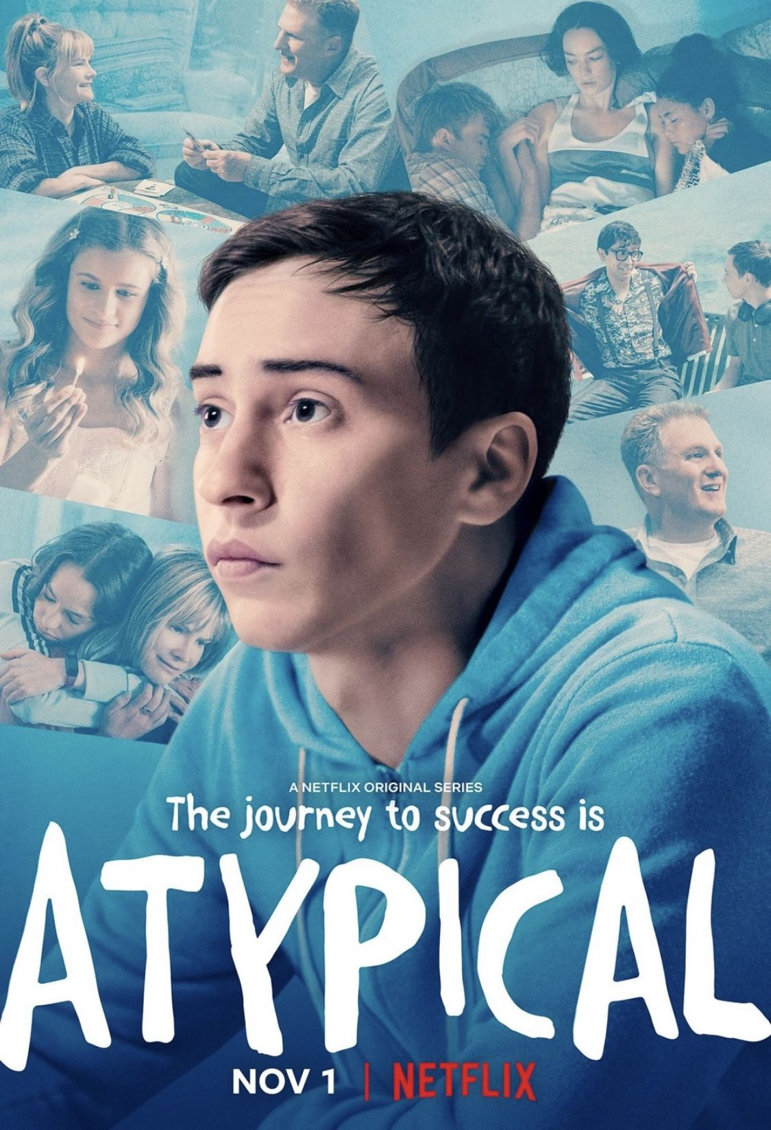 Atypical Atypical, Tv series 2017, Michael rapaport
