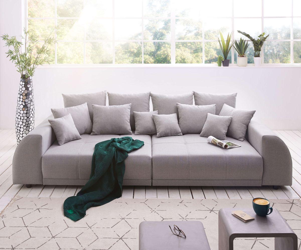 Couch Sofa Lounge Zierkissen in 40x40cm Mausgrau Lichtgrau
